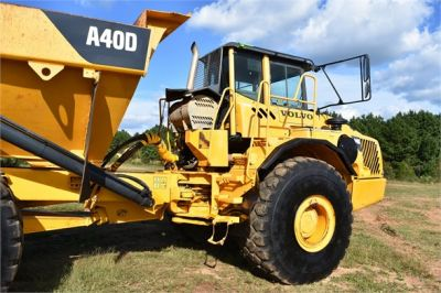 USED 2005 VOLVO A40D OFF HIGHWAY TRUCK EQUIPMENT #2489-18