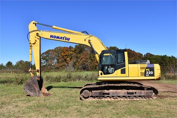 USED 2007 KOMATSU PC220 LC-8 EXCAVATOR EQUIPMENT #2491