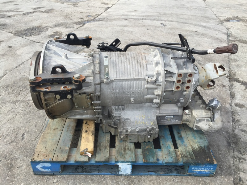 USED 2014 ALLISON 4700RDS TRANSMISSION TRUCK PARTS #1016