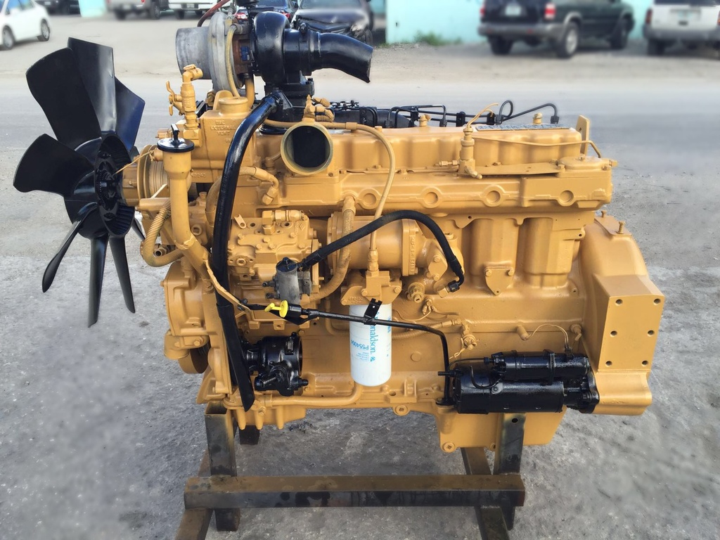 USED 1997 CAT 3306 TRUCK ENGINE TRUCK PARTS #1050