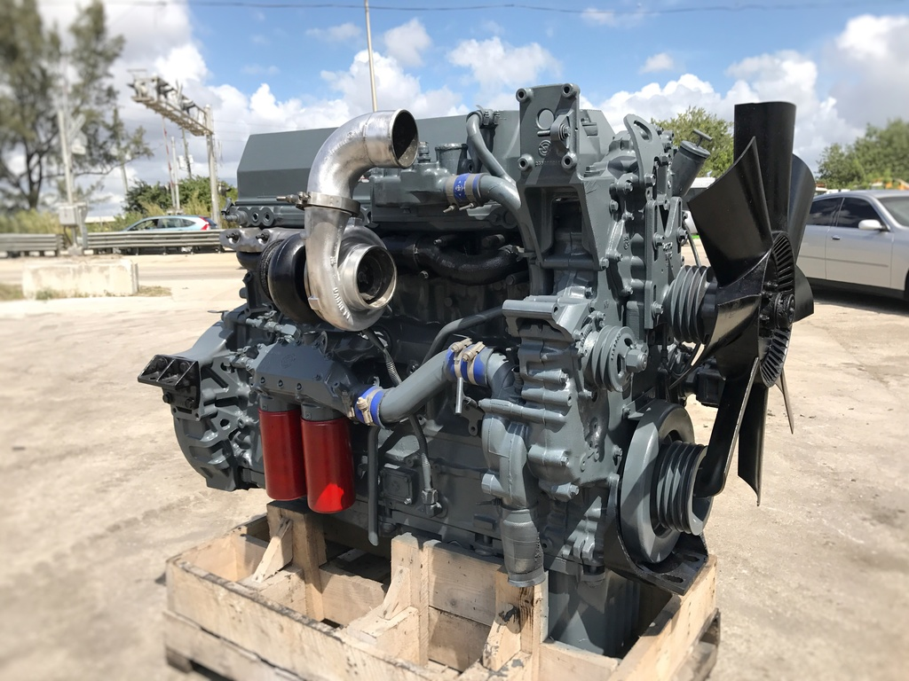 USED 1997 DETROIT SERIES 60 11.1L TRUCK ENGINE TRUCK PARTS #1072