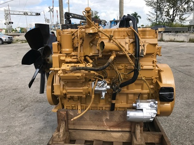 USED 1998 CAT 3126 TRUCK ENGINE TRUCK PARTS #1080-2