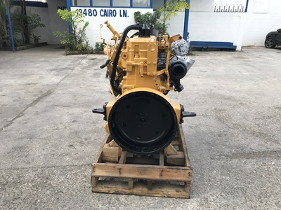 USED 1998 CAT 3126 TRUCK ENGINE TRUCK PARTS #1080-3