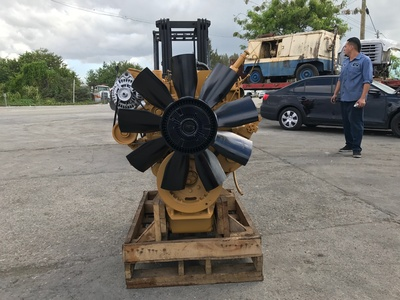 USED 1998 CAT 3126 TRUCK ENGINE TRUCK PARTS #1080-4