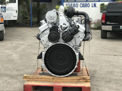 USED DETROIT 92 SERIES TRUCK ENGINE TRUCK PARTS #1084-14