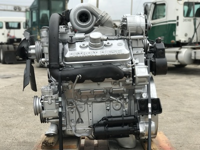 USED DETROIT 92 SERIES TRUCK ENGINE TRUCK PARTS #1084-9