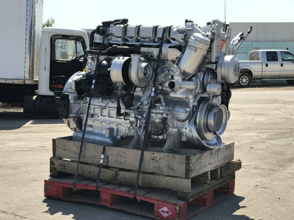 Used 2013 mercedes benz om460 la truck engine for sale in for Used mercedes benz parts