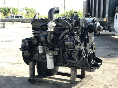 USED 1999 CUMMINS ISM TRUCK ENGINE TRUCK PARTS #1092-5