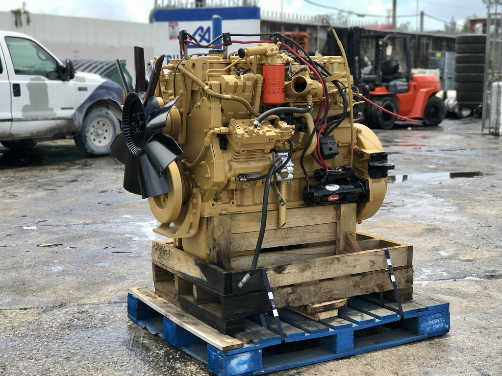 USED 2007 CAT C7 TRUCK ENGINE TRUCK PARTS #1096