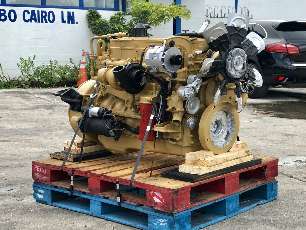 USED CAT 3126 TRUCK ENGINE TRUCK PARTS #1100