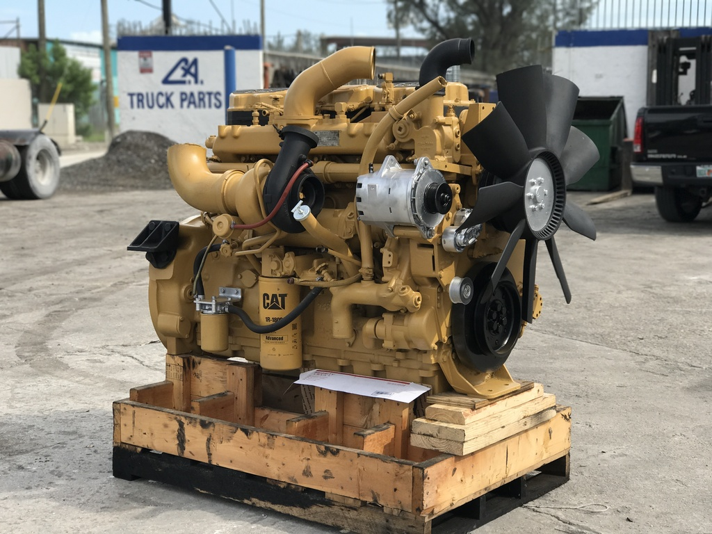 USED CAT C12 TRUCK ENGINE TRUCK PARTS #1104