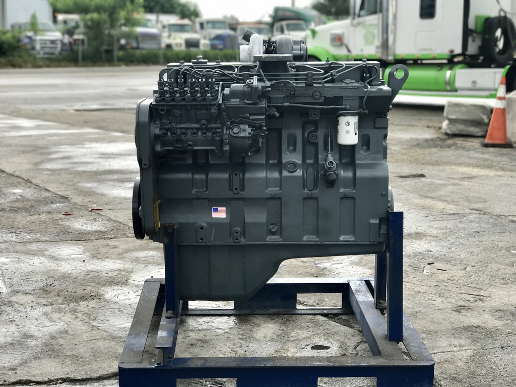 USED CUMMINS 8.3L (6CT) TRUCK ENGINE TRUCK PARTS #1106