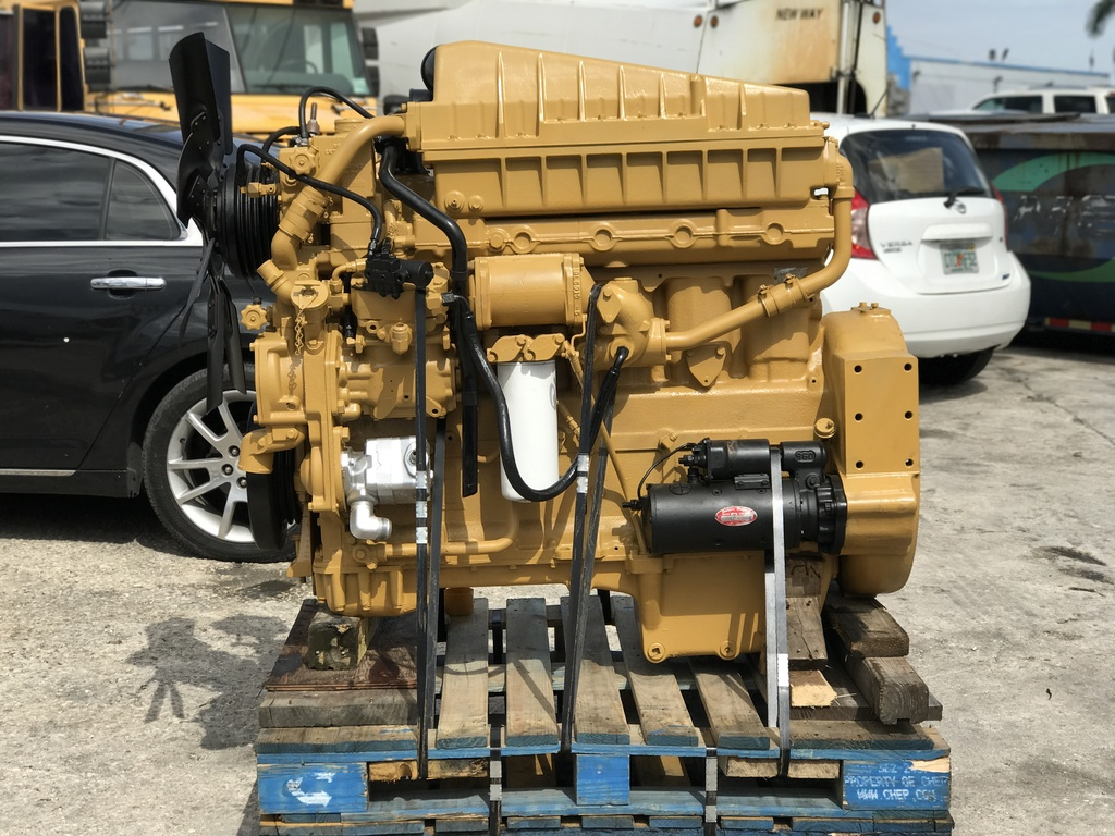 USED CAT 3306 TRUCK ENGINE TRUCK PARTS #1107