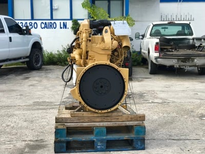 USED CAT 3306 TRUCK ENGINE TRUCK PARTS #1107-3