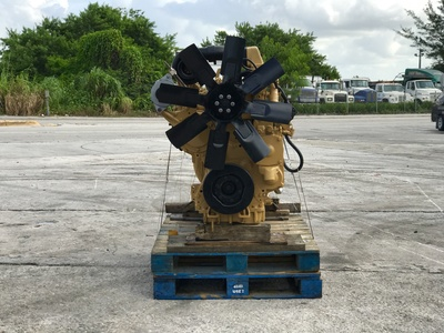 USED CAT 3306 TRUCK ENGINE TRUCK PARTS #1107-4