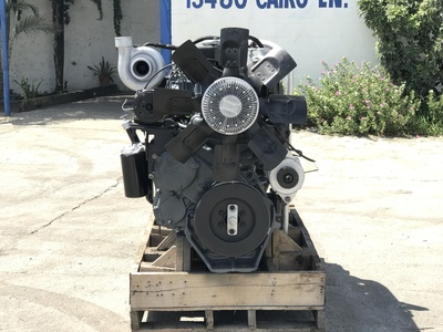 USED MACK MACK E6-350 DIESEL ENGIN TRUCK ENGINE TRUCK PARTS #1109-3