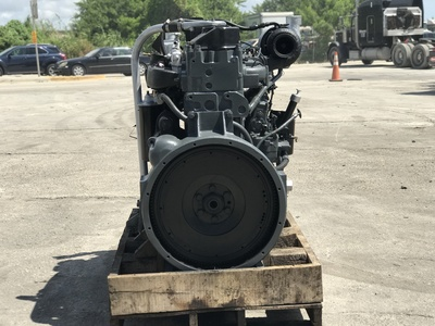 USED MACK MACK E6-350 DIESEL ENGIN TRUCK ENGINE TRUCK PARTS #1109-4