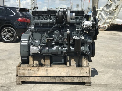 USED MACK MACK E6-350 DIESEL ENGIN TRUCK ENGINE TRUCK PARTS #1109-6
