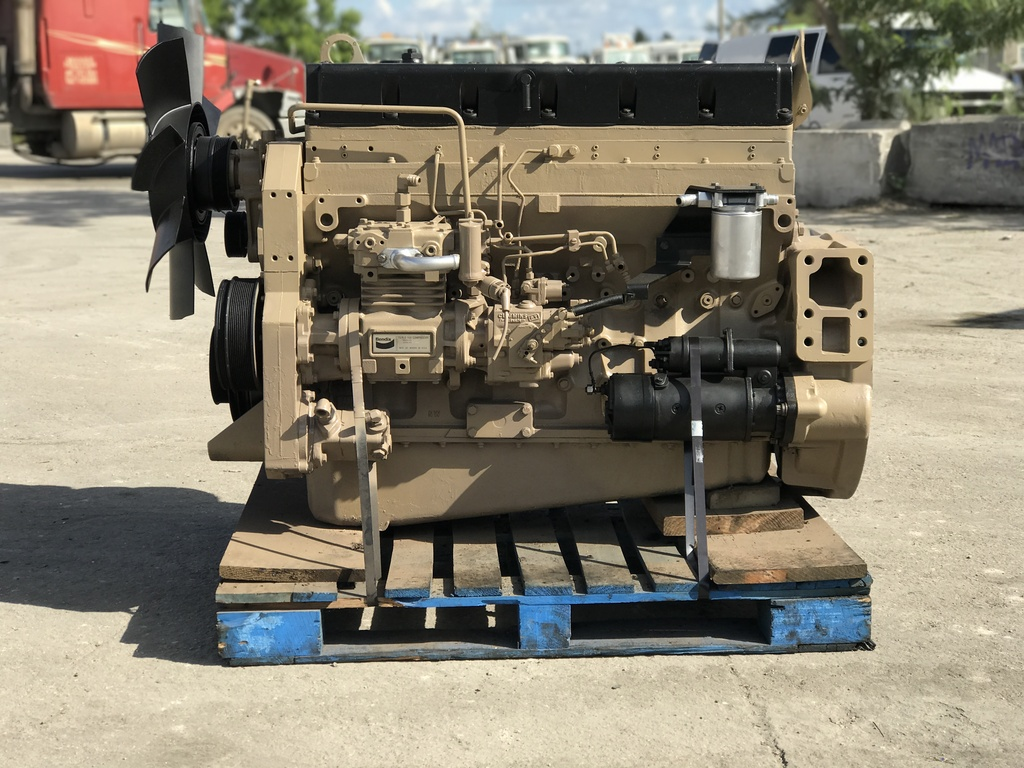 USED 1990 CUMMINS L10 TRUCK ENGINE TRUCK PARTS #1139