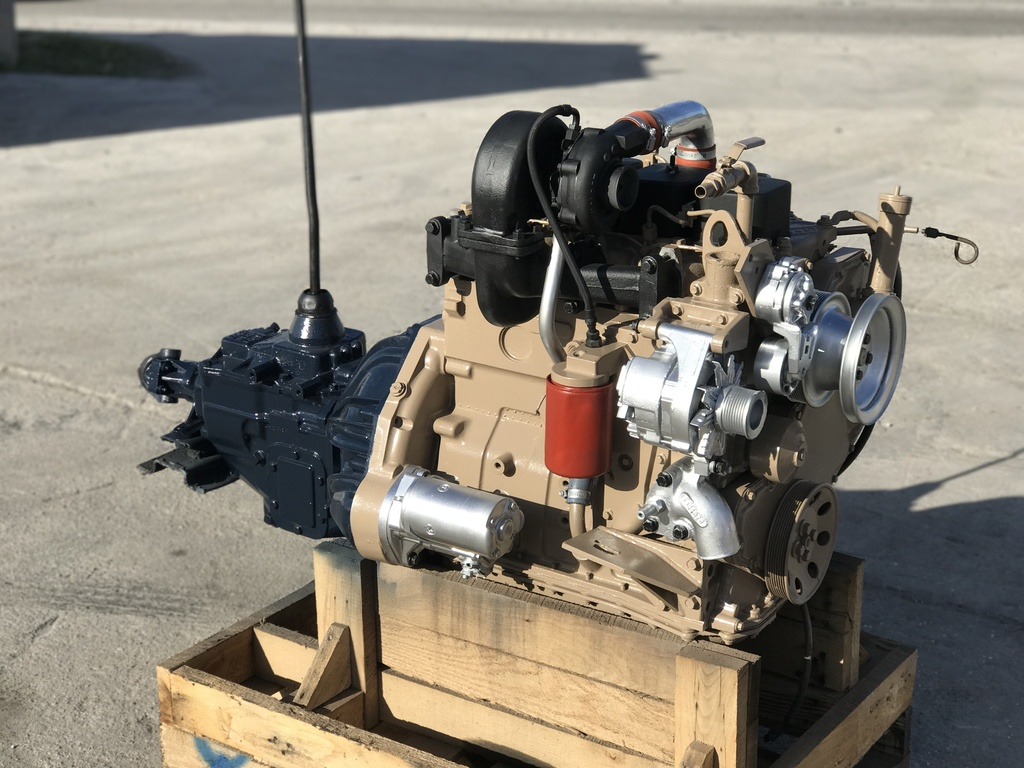 USED CUMMINS 4BT 3.9L TRUCK ENGINE TRUCK PARTS #1144