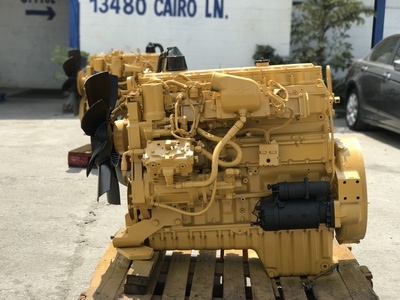 USED 1999 CAT 3126 TRUCK ENGINE TRUCK PARTS #1205-2
