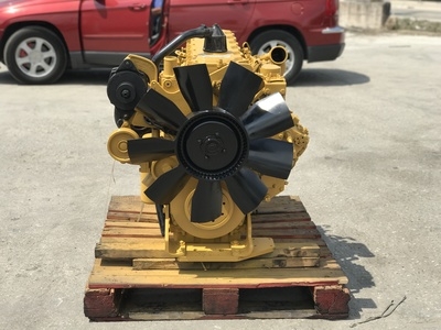 USED 1999 CAT 3126 TRUCK ENGINE TRUCK PARTS #1205-3