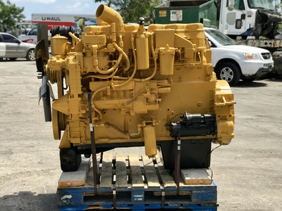 USED 1989 CAT 3406 TRUCK ENGINE TRUCK PARTS #1227-2