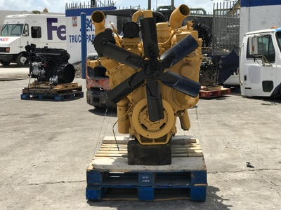 USED 1989 CAT 3406 TRUCK ENGINE TRUCK PARTS #1227-4
