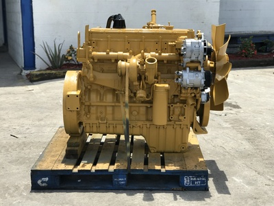 USED 1998 CAT 3126 TRUCK ENGINE TRUCK PARTS #1237-2