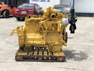 USED 1996 CAT 3306 TRUCK ENGINE TRUCK PARTS #1314-2