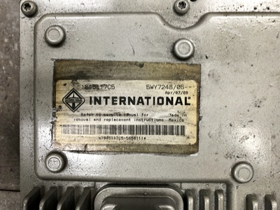 USED 2008 INTERNATIONAL PART # 1845117C5, 5WY72 ENGINE ECM TRUCK PARTS #1324-2