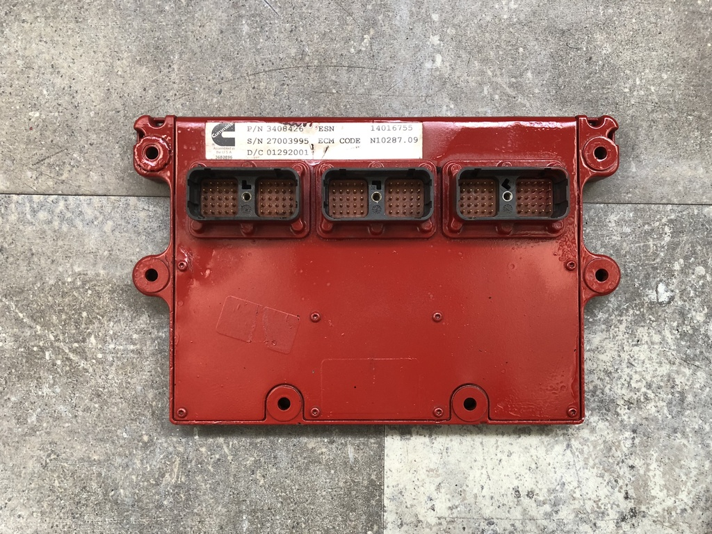 USED 2001 CUMMINS ISX ENGINE ECM TRUCK PARTS #1391