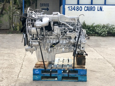 USED 2008 MERCEDES-BENZ OM460LA TRUCK ENGINE TRUCK PARTS #1421-2