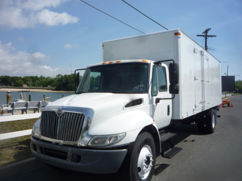 USED 2007 INTERNATIONAL 4300 BOX VAN TRUCK #10971