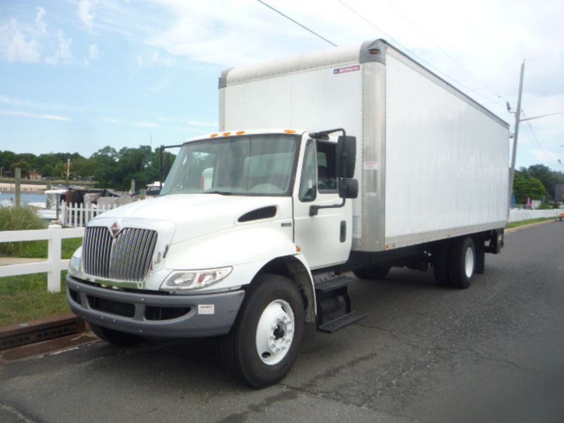 USED 2012 INTERNATIONAL 4300 BOX VAN TRUCK #11025