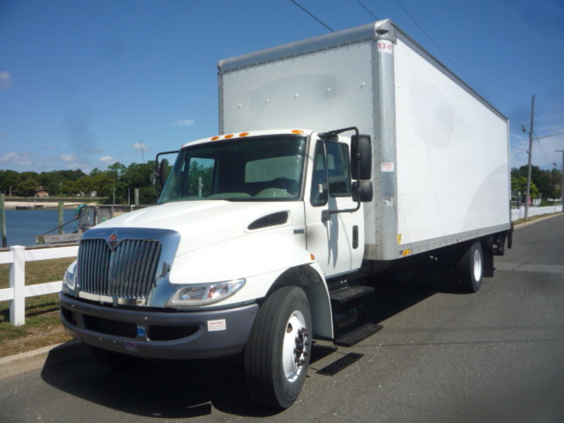 USED 2012 INTERNATIONAL 4300 BOX VAN TRUCK #11056