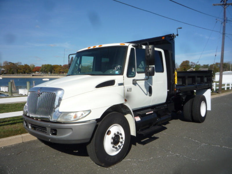 USED 2007 INTERNATIONAL 4300 DUMP TRUCK #11093