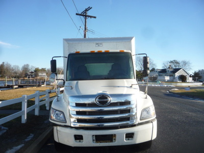 USED 2011 HINO 268 COLDPLATE TRUCK #11123-3