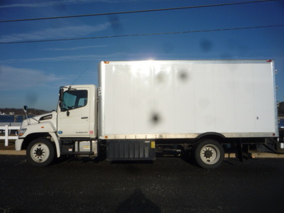 USED 2011 HINO 268 COLDPLATE TRUCK #11123-4