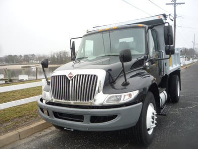 USED 2012 INTERNATIONAL 4300 DUMP TRUCK #11158-3