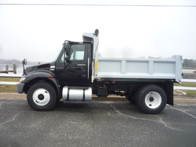 USED 2012 INTERNATIONAL 4300 DUMP TRUCK #11158-5