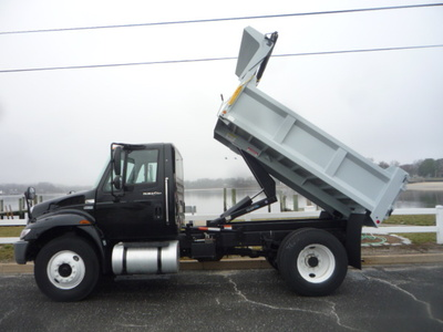 USED 2012 INTERNATIONAL 4300 DUMP TRUCK #11158-7