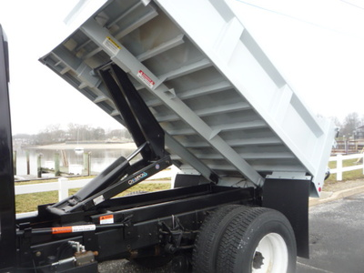 USED 2012 INTERNATIONAL 4300 DUMP TRUCK #11158-8