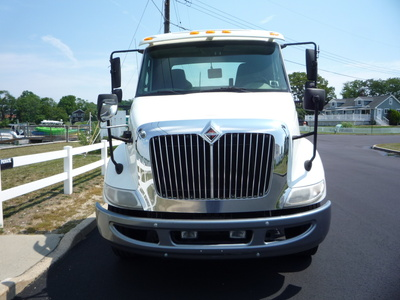 USED 2011 INTERNATIONAL 8600 6X4 CAB CHASSIS TRUCK #11197-3