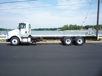 USED 2011 INTERNATIONAL 8600 6X4 CAB CHASSIS TRUCK #11197-4