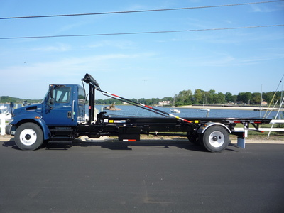 USED 2012 INTERNATIONAL 4300 ROLL-OFF TRUCK #11216-4