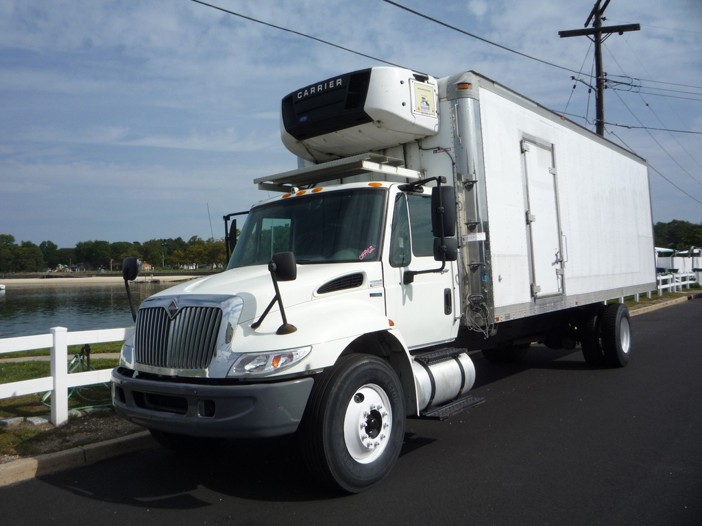 USED 2012 INTERNATIONAL 4300 REEFER TRUCK #11222