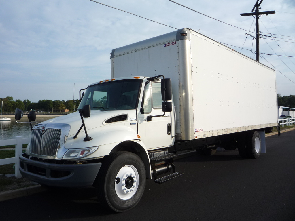 USED 2012 INTERNATIONAL 4300 BOX VAN TRUCK #11227
