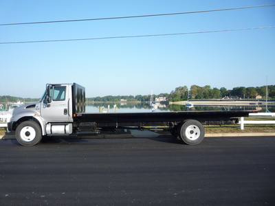 USED 2011 INTERNATIONAL 4400 FLATBED TRUCK #11237-4