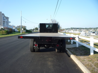 USED 2011 INTERNATIONAL 4400 FLATBED TRUCK #11237-5
